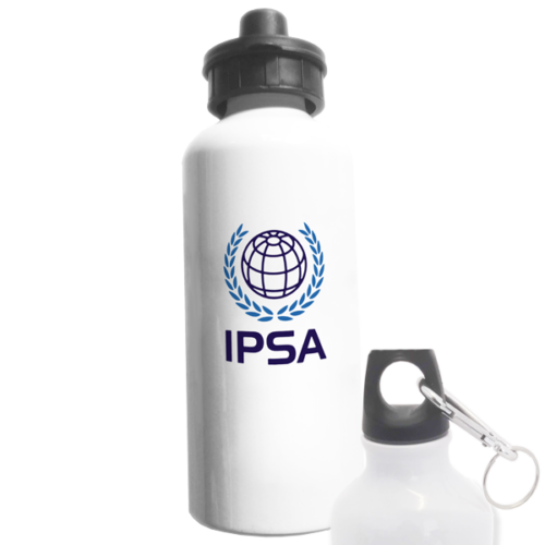 IPSA water bottle with 2 caps