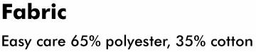 Ladies Polo fabric info
